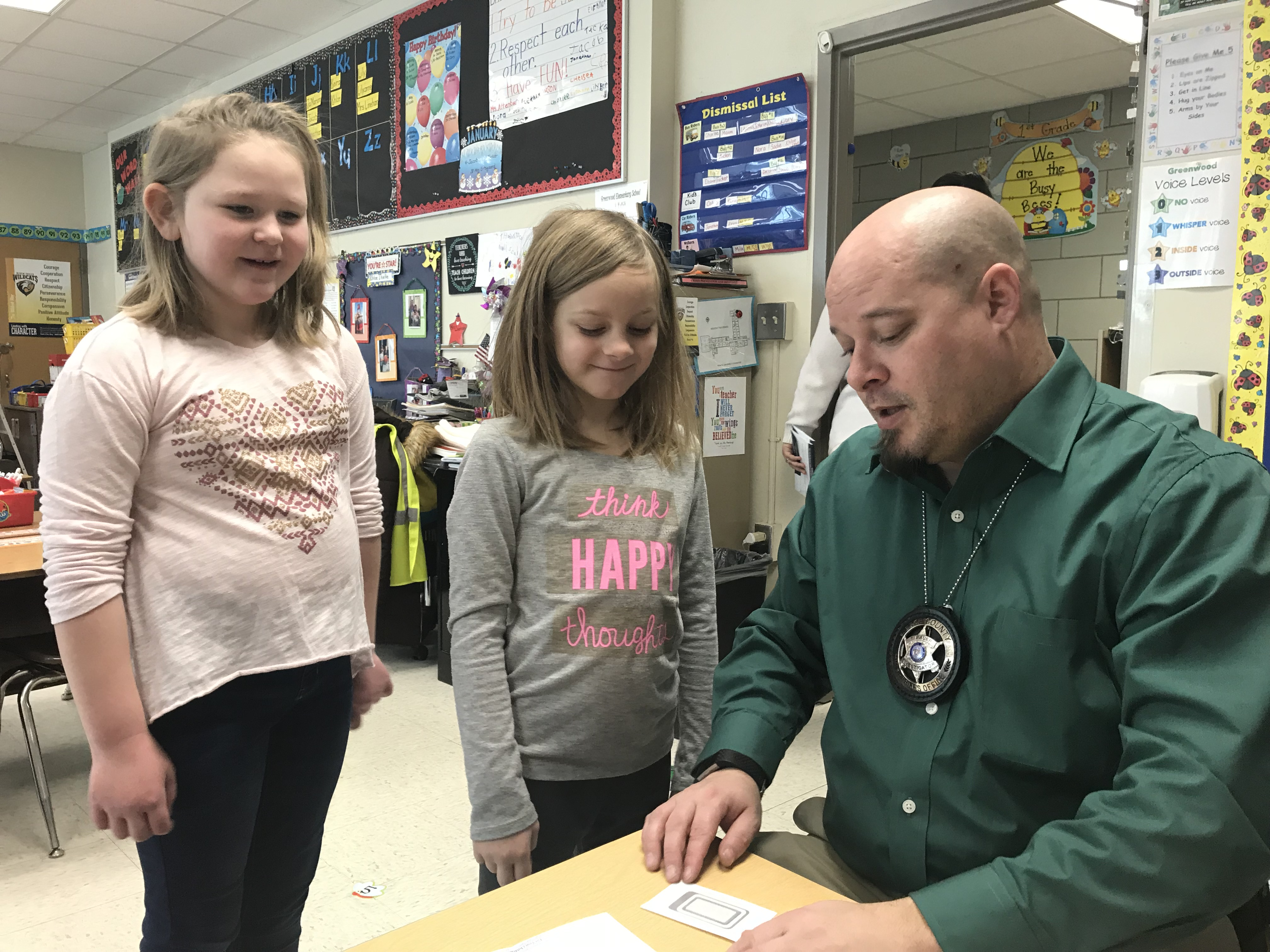 Child ID in River Falls - Greenwood Elementary
