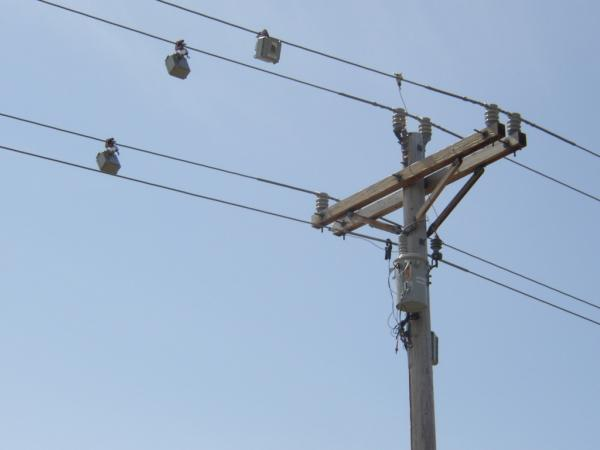 Testing on power line